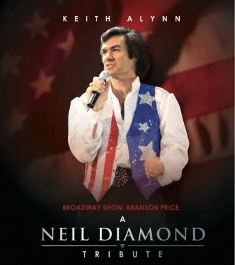 Keith Allynn from A Neil Diamond Tribute